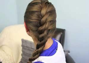 French Twist Hair